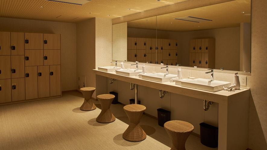 男性大浴場(パウダールームイメージ)