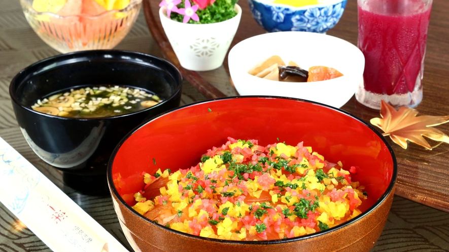 ◆朝食◆三重名物手こね寿司※和朝食または中華粥から選べます