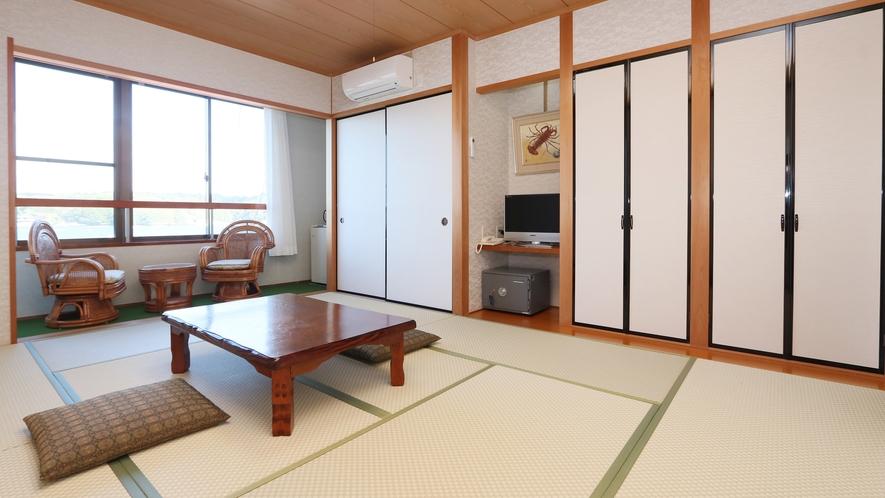 【和室10畳+広縁】最上階から美しい景色を満喫できる和室10畳広緑付のお部屋♪