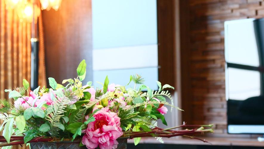 【特別室】お部屋や館内の家具、インテリア、雑貨は中国から輸入しております!