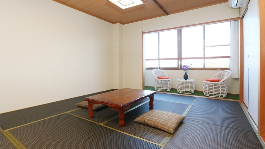 【和室10畳+広緑】最上階から美しい景色を満喫できる和室10畳広緑付のお部屋♪