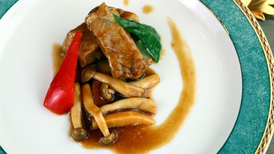 ◆リーズナブル&スタンダード一例◆料理長おすすめの豚肉料理