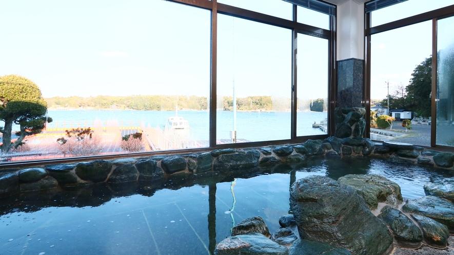 ◆榊原温泉◆岩風呂の大浴場がございます!マッサージ効果があり、ハリ・ツヤのある肌を生み出します♪7