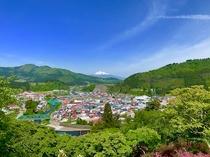 大鰐町 茶臼山公園展望台