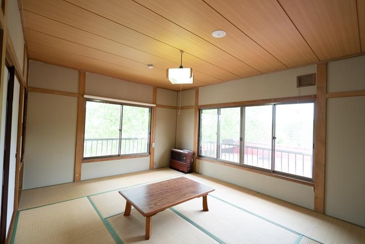 女神湖側の客室です。