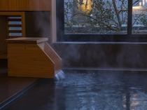客室/豊かな香りのヒノキ内風呂