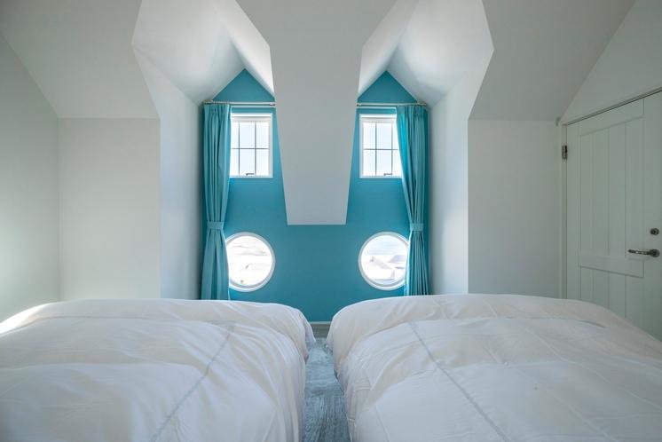 A棟 ベッドルーム 1