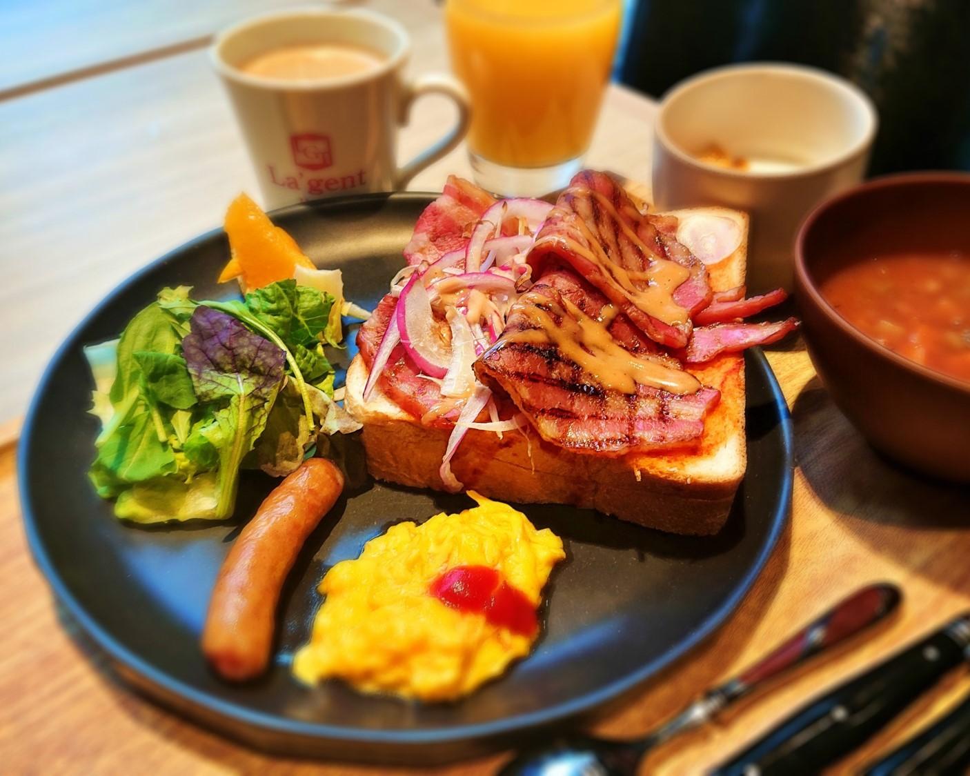朝食-洋食セット