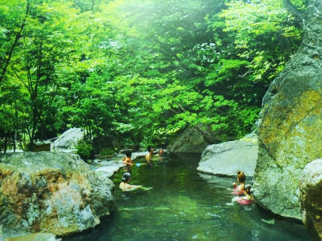 松川渓谷温泉