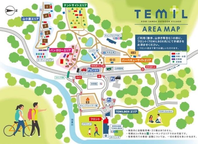TEMIL地図