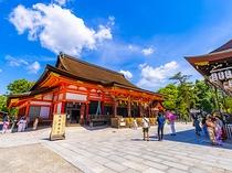 【八坂神社】東山随一の観光地として有名な祇園社の総本社 7月の祇園祭でも重要な神社〈東西線で約22分