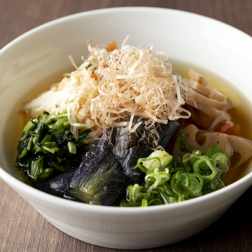 ナイトスナック(京風にゅう麺)