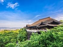 【清水寺】平成の大修理により3年ぶりに姿を見せた歴史的文化遺産〈バスで約43分〉