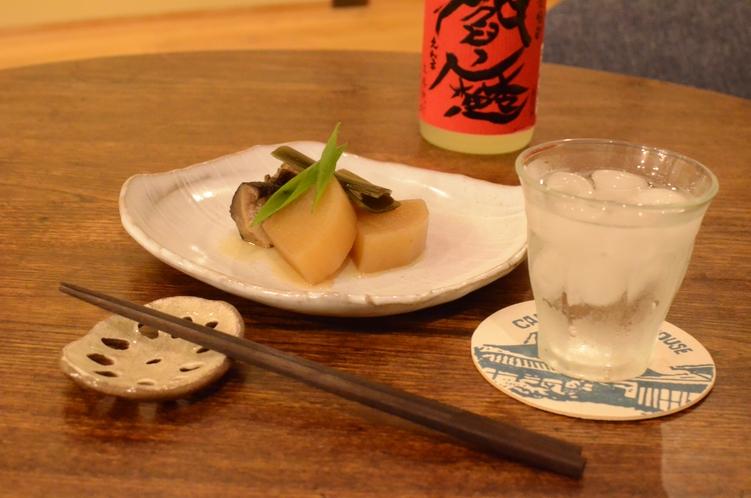 和総菜と焼酎の晩酌セット