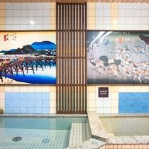 男性専用大浴場(ご利用時間/17:00〜23:00、5:00〜9:00)