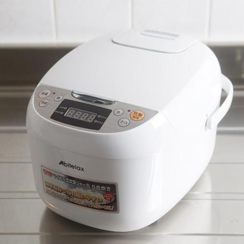 炊飯器(一部客室)