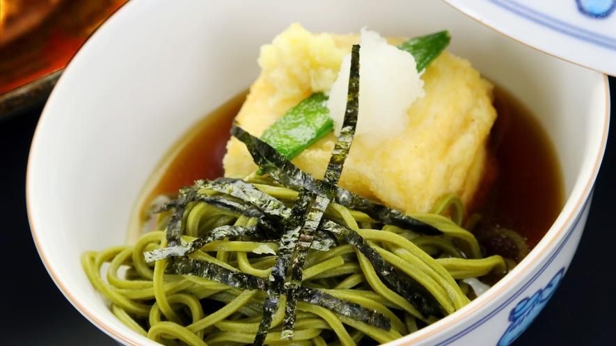 ◆スタンダードコース◆香り豊かなお蕎麦と味の沁みた揚げ出し豆腐