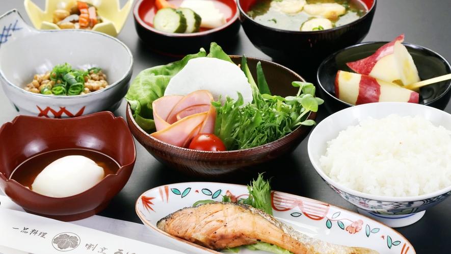 ◆グレードアップコースの朝食◆朝はしっかりと食べたい方に☆