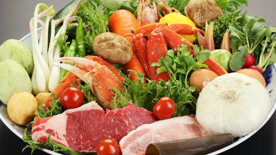 ◆新鮮な食材を使ったお料理をご提供!