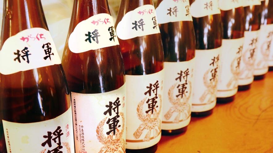 ◆日本酒も多く取り揃えています!