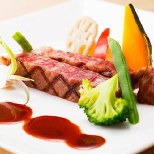 フランス料理:甲州牛ディナー
