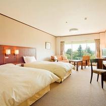 5階ツインルーム富士山側