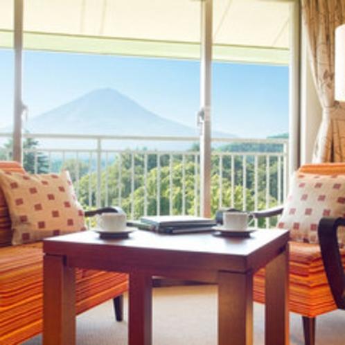 モデレートツインルーム富士山側(一例)