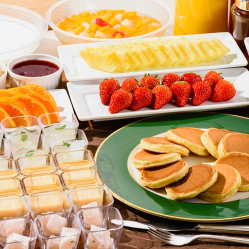 フルーツを中心とした朝スイーツ【朝食バイキング】