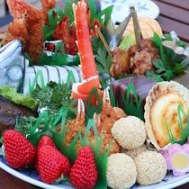 組皿鉢(約6人前分15000円)