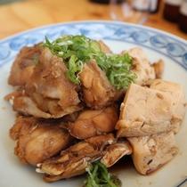 芸西村産黒糖のアラ炊き(一人前1050円)
