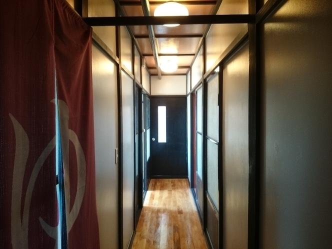 第2ハウス廊下