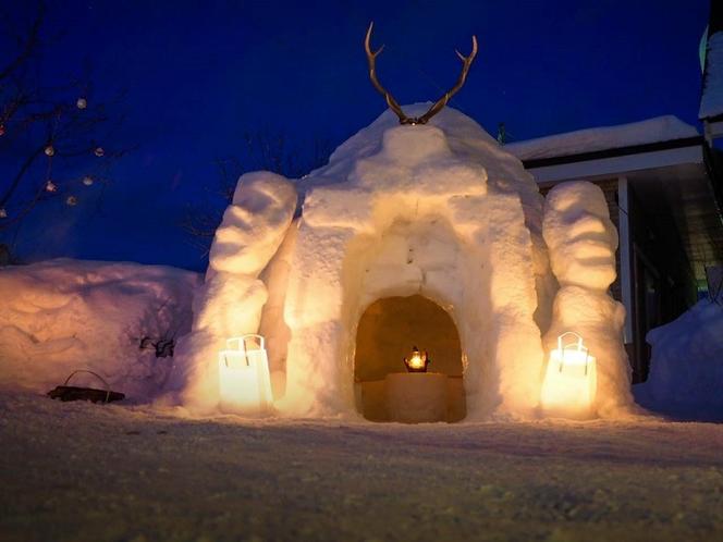 くるみちゃんハウスの雪祭り
