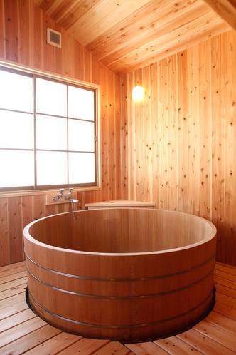 檜のたる風呂