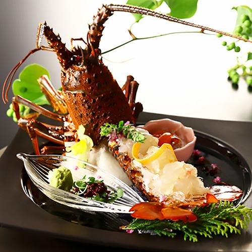 【別注料理】期間限定 天草の伊勢海老と車海老の盛り合わせ