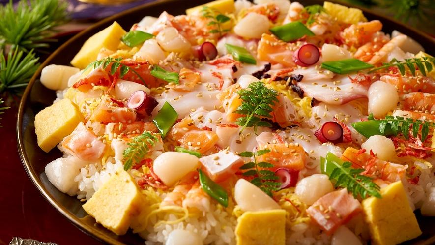 【9/1~11/30】秋の料理フェア 亀屋名物 富貴寄せ寿司(ちらし寿司) ※イメージ