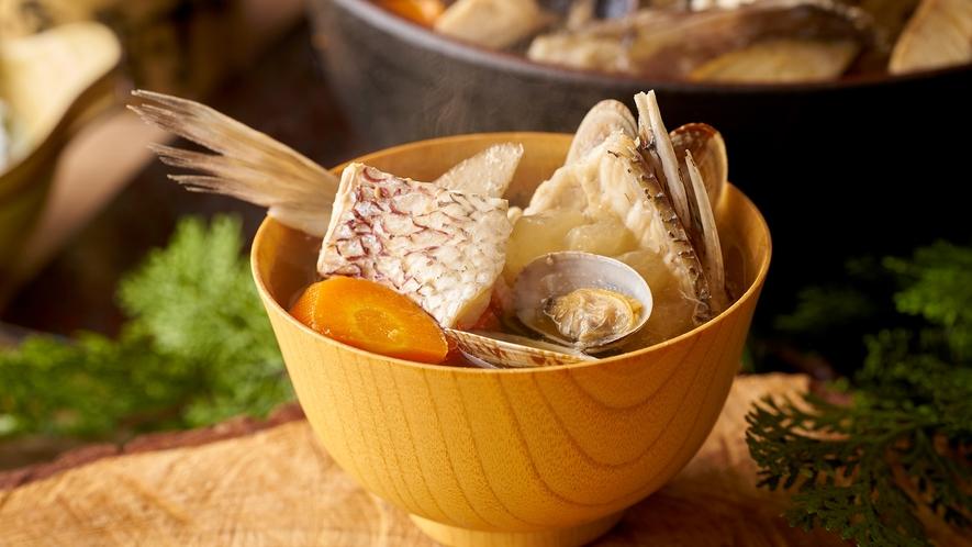【9/1~11/30】秋の料理フェア 【朝食】漁師の海鮮汁 ※イメージ