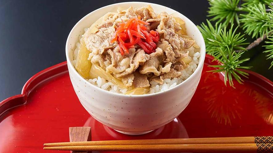 【9/1~11/30】秋の料理フェア 【朝食】牛丼 ※イメージ