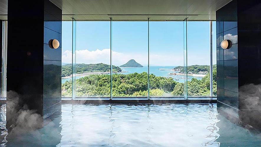 大浴場は景観も良し!