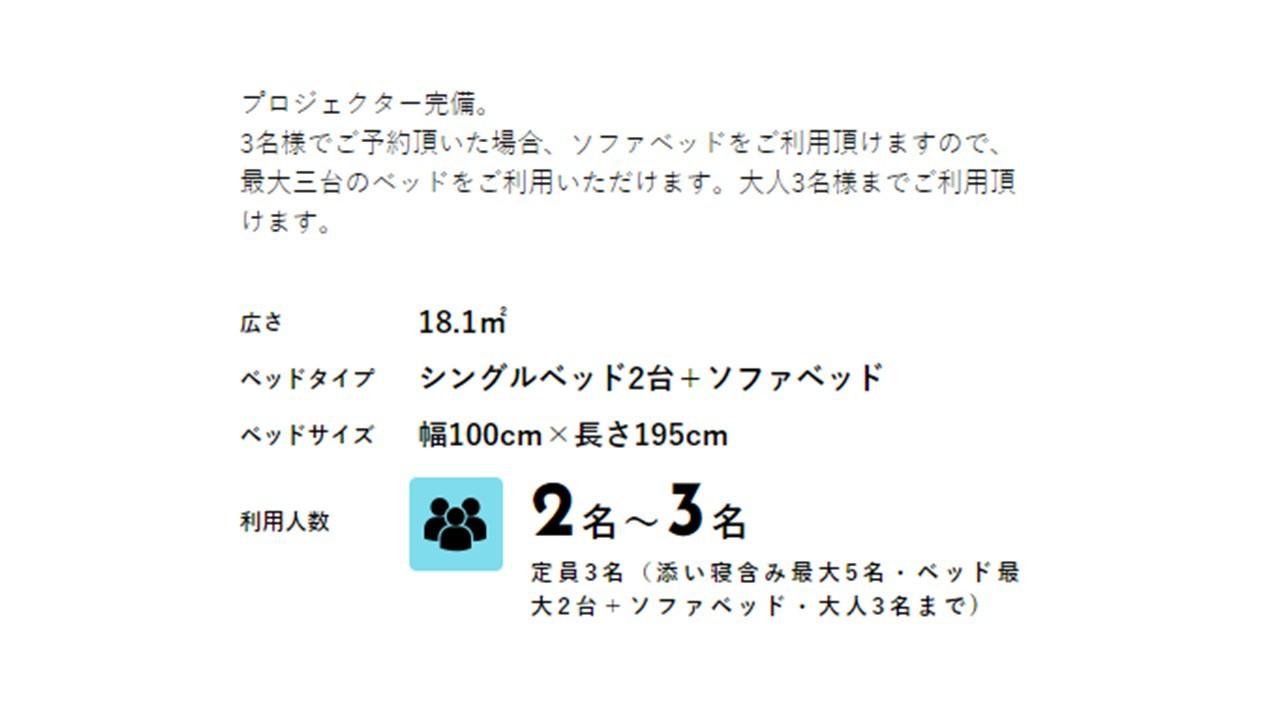 【シアタールーム】ツインエキストラ