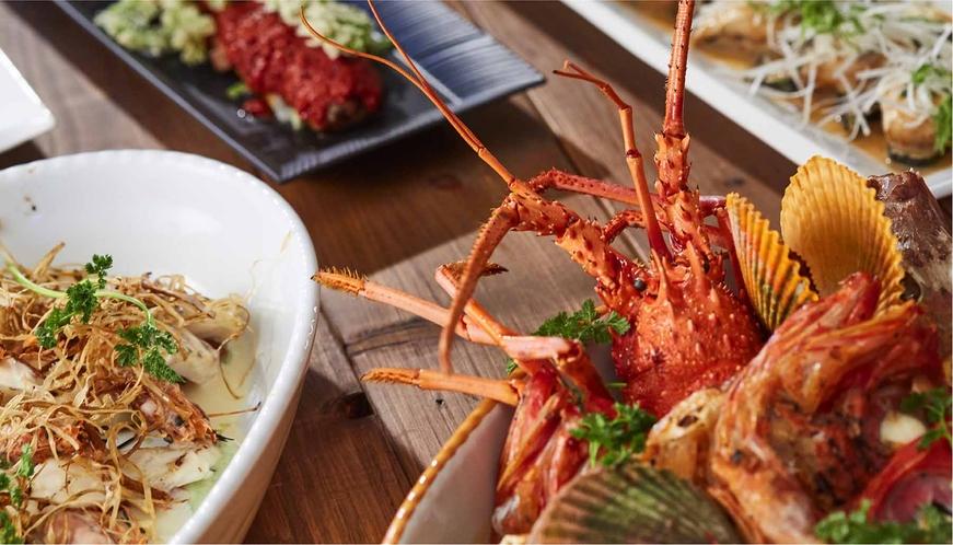 新鮮な鯛や熊野牛など 白浜ならではの食材を使用しています。