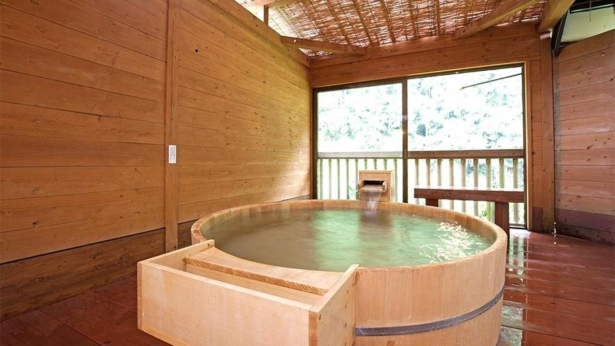 210号室(定員8名様)檜風呂付コテージタイプ★