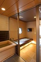 【110号室】専用低温岩盤浴・檜風呂付