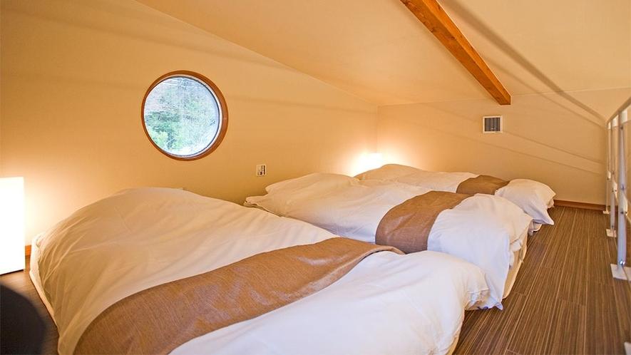 【ガーデンコテージ】(定員6名)ロフト寝室