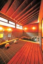 【302・303号室】専用岩風呂付