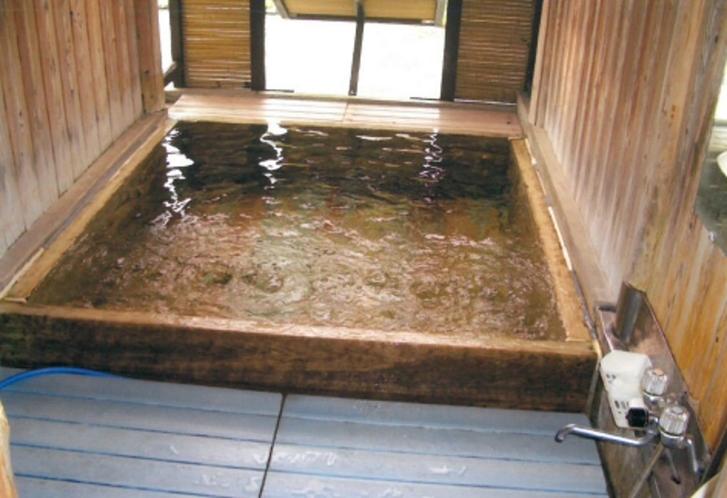 檜風呂風景