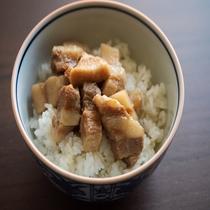 【夕食】炙りコロチャーシュー飯(イメージ)白浜らーめん「柑月」-KANGETU-(KEY2)
