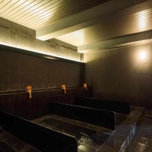 【お風呂】ホテルシーモア内の岩盤浴「 千畳敷」レジデンス宿泊の方は無料でご利用いただけます。
