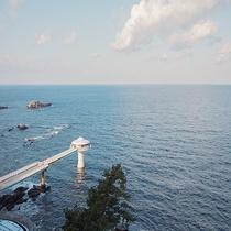 【施設】海中展望塔「コーラルプリンセス」