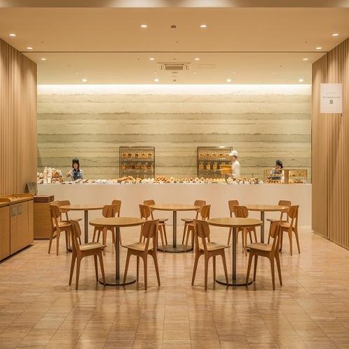 【施設】ホテルシーモア内にあるベーカリー「Tetti Bakery&cafe」