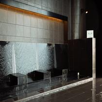 【お風呂】座り湯。レジデンス宿泊の方は無料でご利用いただけます。